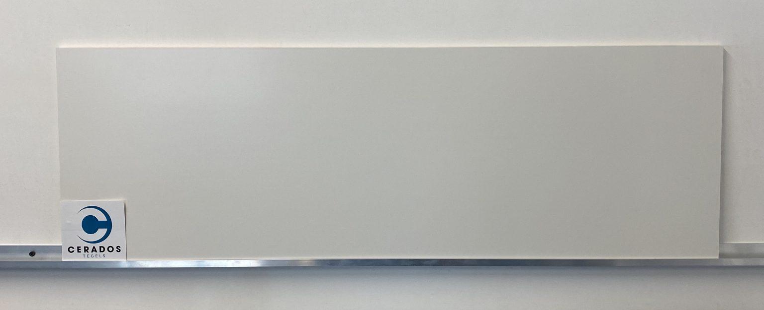 tegel aanbieding wandtegel mat wit 33,3x100