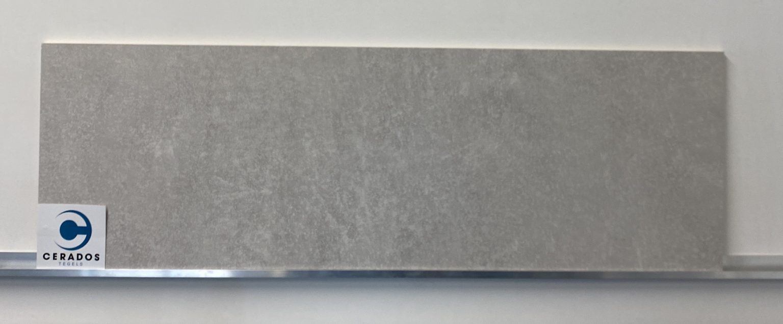 wandtegel grijs mat 33,3x100