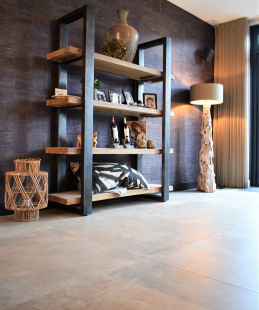 Betonlook-tegel-100x100-Capua-Zand