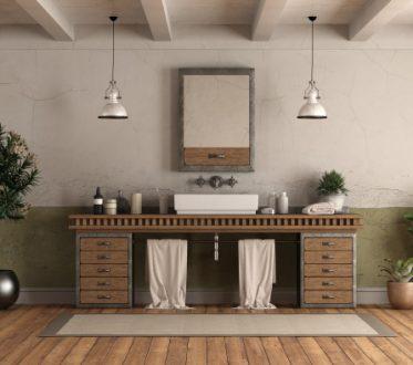 retro-style-home-bathroom-with-sink_244125-1029 Parket badkamer